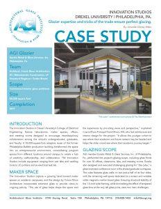 AGI Case Study - Drexel Innovation Studios