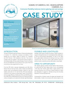 AGI Case Study - Subaru