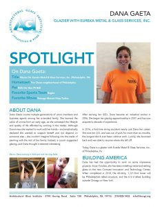 AGI Spotlight 14 - Dana Gaeta