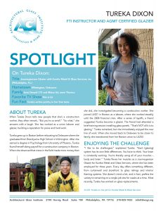 AGI Spotlight 40 - Tureka Dixon